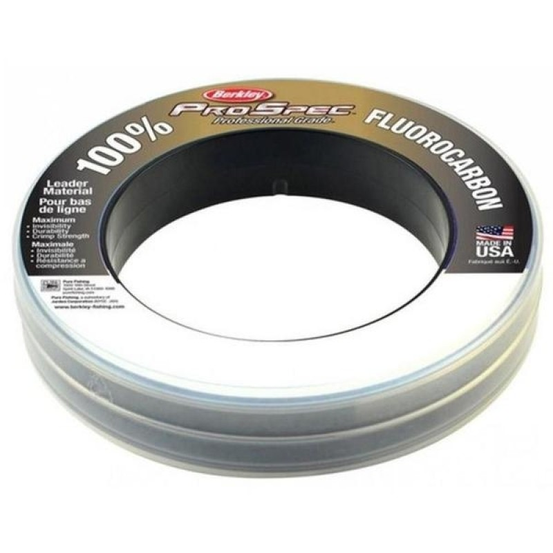 Berkley Pro Spec 100% Fluorocarbon Leader 20lb 100yd Clear